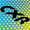 Желтый с голубым